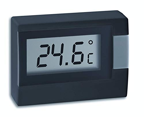 TFA Dostmann digitales Thermometer 30.2017.01, schwarz