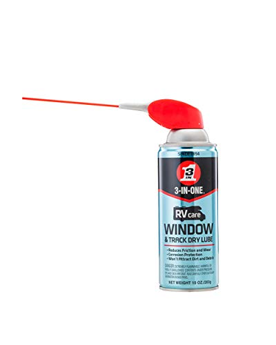 3-IN-ONE - 120091 RVcare Window & Track Dry Lube...