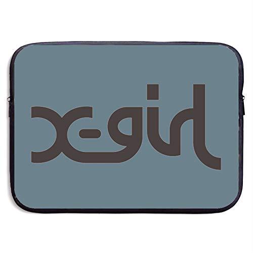 X-Girl (1) 軽量 ノートパソコン保護用スリーブカバー おしゃれでコンパクトなpcカバンです衝撃吸収 スリム 360°保護 13/15インチ スリーブ ノートパソコンバッグ 防水