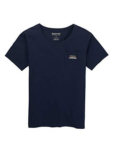 Burton T-Shirt à Manches Courtes Classique pour Femme L Robe Bleue.