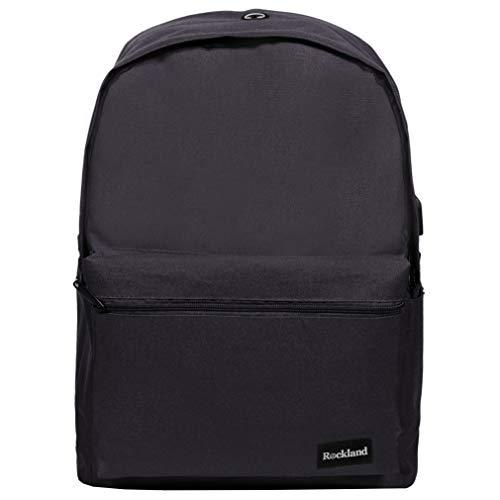 Rockland Classic Laptop Backpack, Black, Large