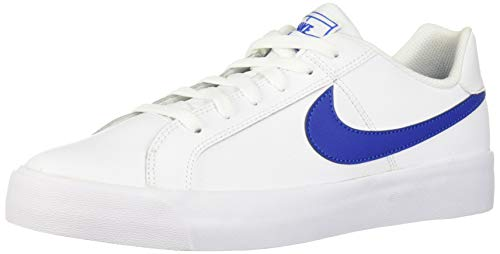 Nike Men's Court AC Sneaker, White/Game Royal, 6 Regular US