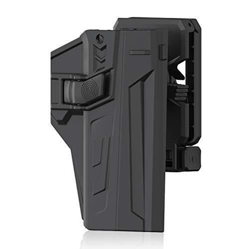 efluky CZ Gürtelholster Pistole CZ p-09/p-07 Gun Fit CZ P07/P09, Belt Clip 360° Einstellbar