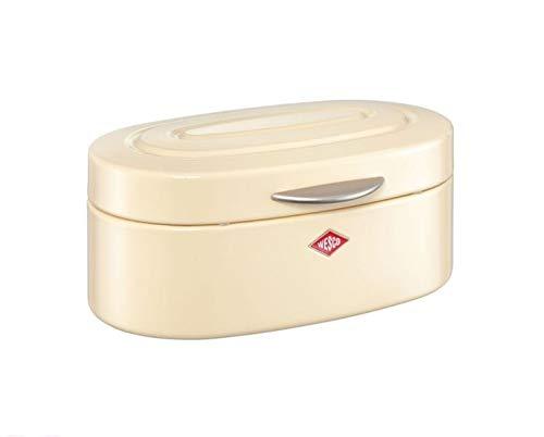 WESCO 236101 Brotkasten SINGLE ELLY Classic Line Brotbox Retro-Brotkasten% SALE%, Farben:Mandel