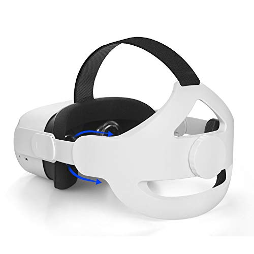K6 Correa Ajustable para la Cabeza para Oculus Quest 2,Reemplazo para la Correa Oculus Quest 2 Elite,Reduce la Presión de la Cabeza, Mayor Comodidad y Soporte,Accesorios para Oculus Quest 2