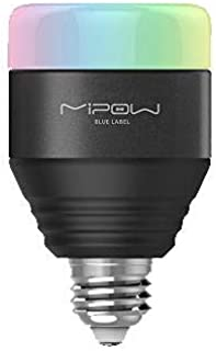 Light Bulb Smart LED by Mipow Black, BTL201B