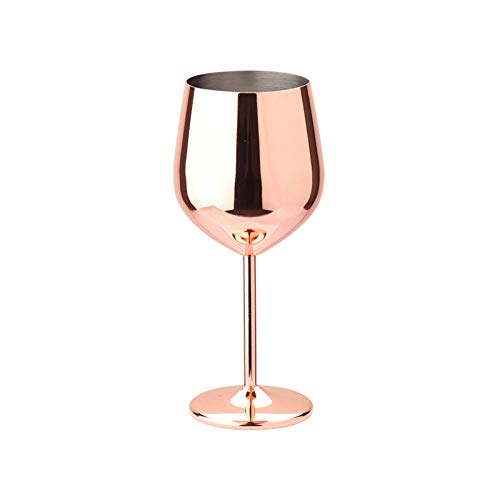 Stainless Steel Whiskey Red Wine Glass Creative Single Layer Eggshell Cup 304 Stainless Steel, Exquisite Home and Gift