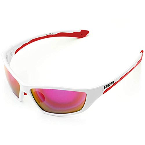 Briko Action Lunettes Homme Taille Unique 993 White Red -RM3