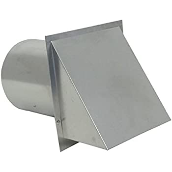 5-Inch Applied Applications International Speedi-Products SM-RWVD 5 Wall Vent Hood with Spring Damper