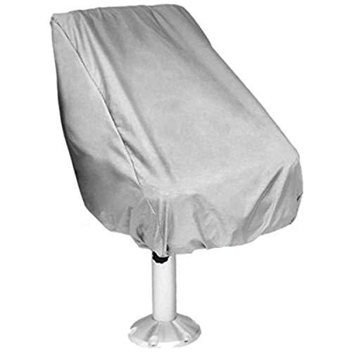 Fltaheroo Funda para asiento de barco, impermeable al aire libre, pontón capitán barco, cubierta protectora para silla