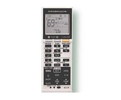 Mitsubishi Electric SG15H (E22T43426) Original HVAC Remote Control