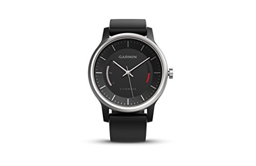 Garmin Vivomove Activity Tracker, Black with Sport Band