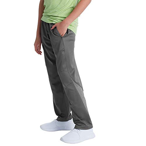 C9 Champion Boys' Open Leg Athletic Pants, Medium Gray, L