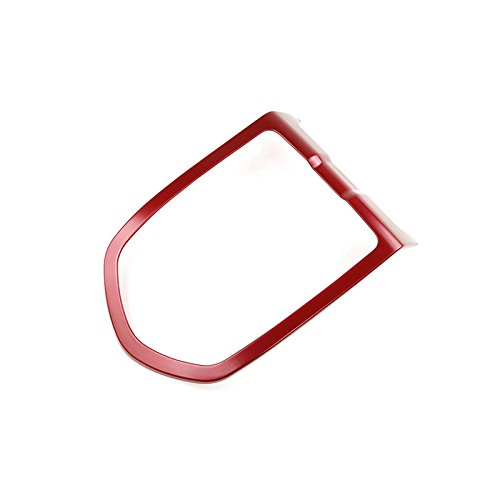 Red Interior Roof Front Reading Light Trim Cover for Porsche Panamera 2010-2016