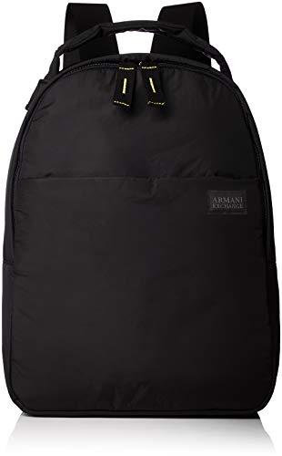Armani Exchange - Backpacks, Mochilas Hombre, Negro (Nero), 40.0x13.5x30.0 cm (B x...