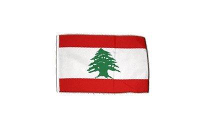 Fahne Flagge Libanon 30 x45 cm