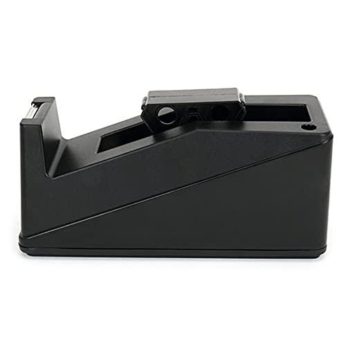 Dispensador de cinta de repuesto rollos de cinta adhesiva de escritorio Dispensador de cintas de sellado cortador de base de mesa Soporte de soporte dispensador de cinta adhesiva