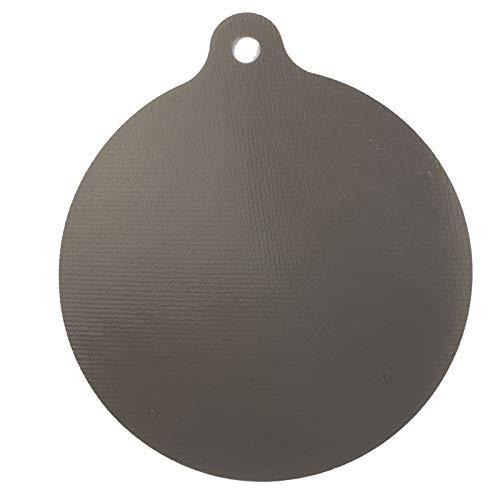Nicoone Esteras protectoras de inducción, antiadherentes de inducción de calor, alfombrilla reutilizable de silicona con aislamiento térmico para estufa de gas, fácil de