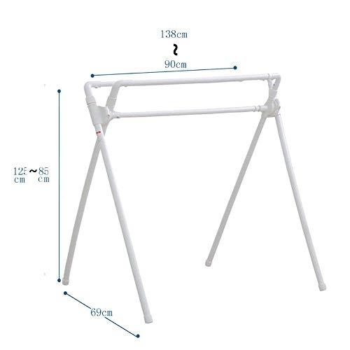 FF Hangers voor het drogen van planken Airer Parallel bars Droogrek Balkon Type X Vouwhanger voor indoor Telescopische staande kapstok Droogrek Kleren rek