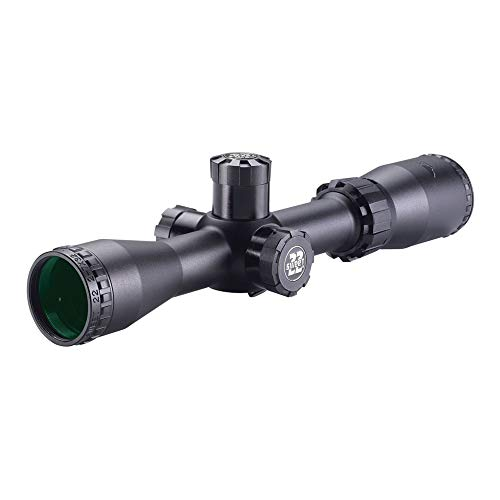 BSA Optics 22-27X32AOCWRTB Sweet 22 AO Compact 2X-7X 32mm Rifle Scope, Multi, 2X - 7X