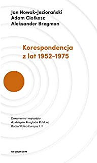 Korespondencja z lat 1952-1975