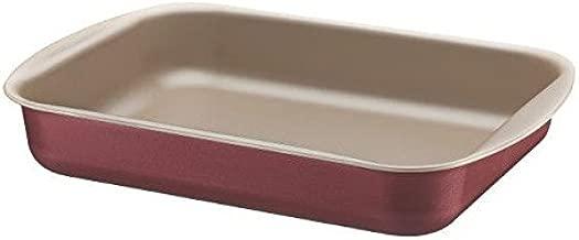 Assadeira Funda de Alumínio com Revestimento Antiaderente Tramontina Tramontina Brasil Vermelho 34Cm