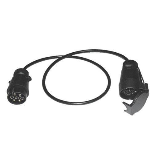 1,0m Verlängerungskabel Verlängerung Kabel Stecker/Kupplung 7-polig