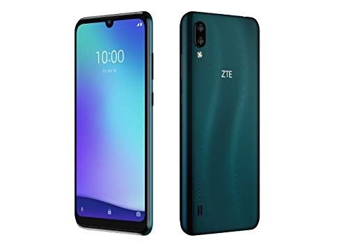 ZTE Blade A5 (2020) (15,46 cm (6 Zoll) HD+ Bildschirm, 32GB interner Speicher & 2GB RAM, 13MP+2MP Hauptkamera, 5MP Frontkamera, Android) Dunkelgrün