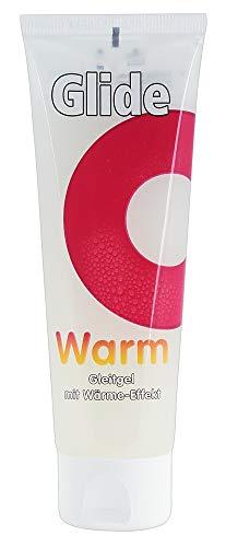 ORION Gleitgel Warm 80 ml - wärmende und medizinische Gleitcreme auf Wasserbasis, prickelndes Gleitgel dank Wärme-Effekt