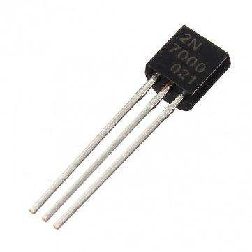10 Stück 2N7000 N -Kanal-Transistors Schnelle Schalt-MOSFET TO-92