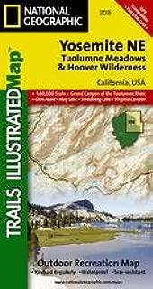 Yosemite Ne, Tuolumne Meadows & Hoover Wilderness, California, USA: Trails Illustrated Map: 1:40,000 Scale, Grand Canyon of the Tuolumne River, Glen A