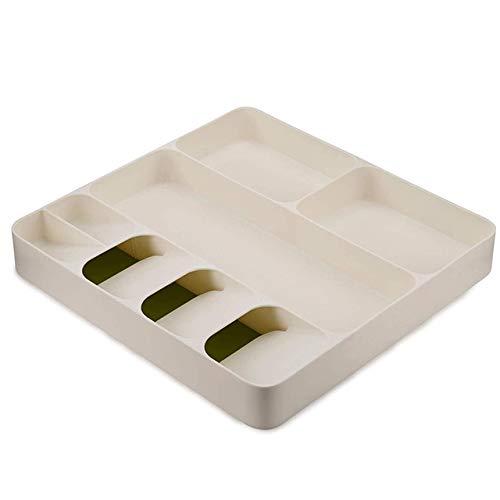 Cocina de la cocina de la bandeja de almacenamiento cuchillo porta cuchillas cocina organizador cocina contenedor cuchara cuchara de almacenamiento de la separación cuchillo bloque titular Verde