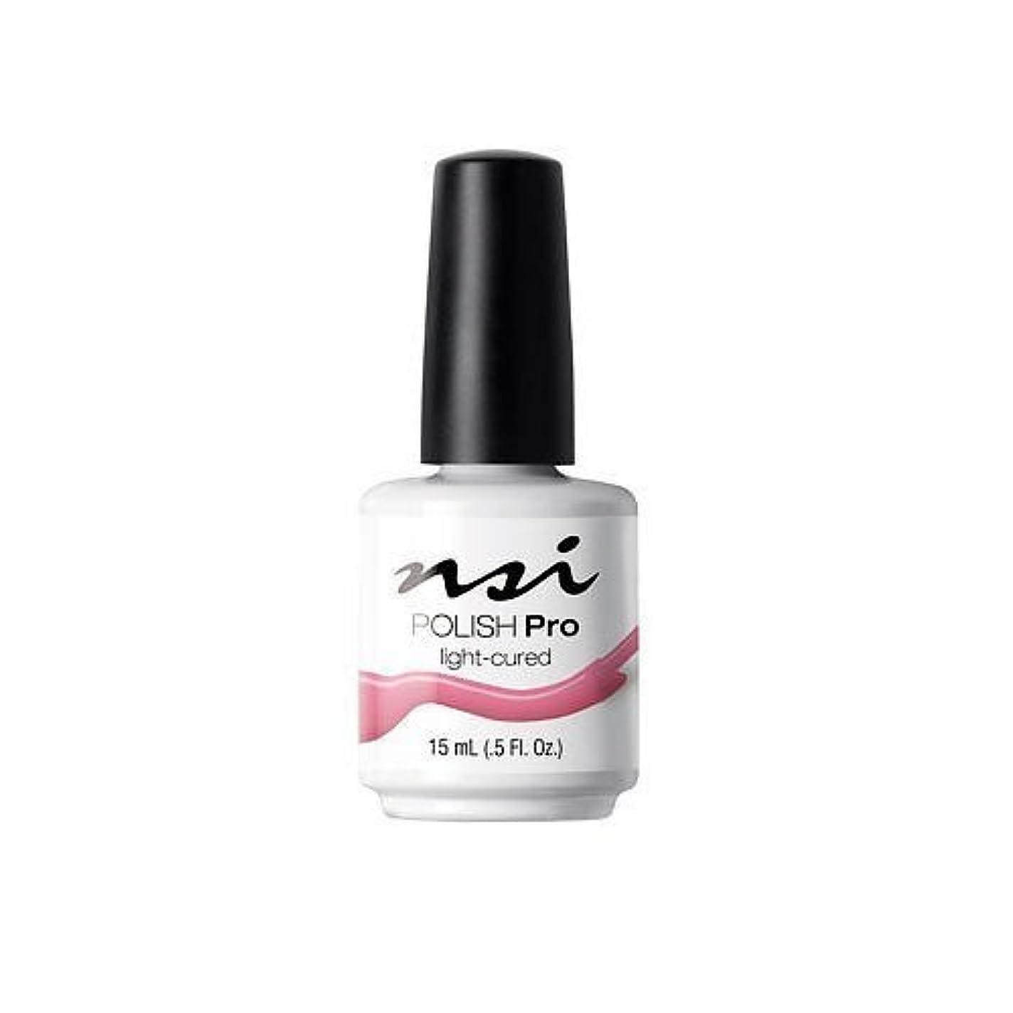純度フェッチ心理学NSI Polish Pro Gel Polish - Pink Flamingo - 0.5oz / 15ml