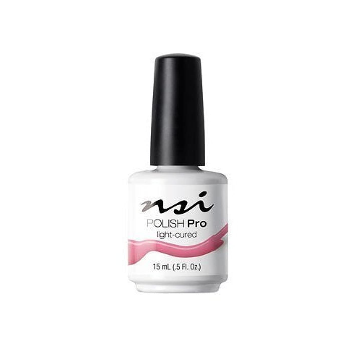 理論的提案少ないNSI Polish Pro Gel Polish - Pink Flamingo - 0.5oz / 15ml
