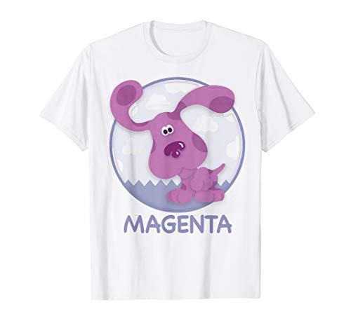 Blue's Clues Magenta Simple Portrait T-Shirt