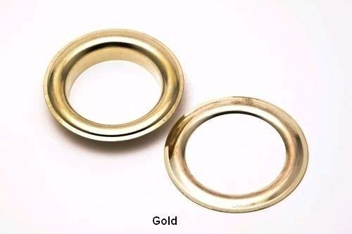 14Mm Grommets Eyelets and Washers Rust Proof for Fabric Curtains Leather Tarpaulin Arts & Craft