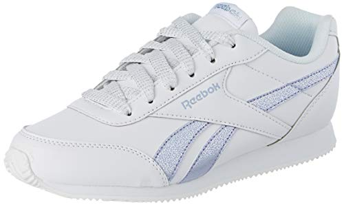 Reebok Damen Royal Cljog 2 Fitnessschuhe, Mehrfarbig (Pastel/White/Frozen Lilac/Silver 000), 37 EU
