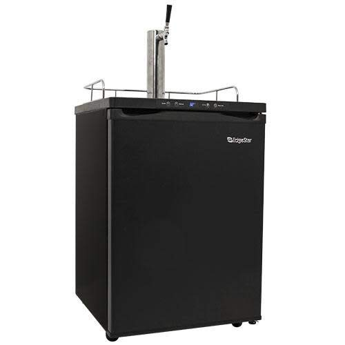 EdgeStar KC3000 Full Size Kegerator with Digital Display - Black