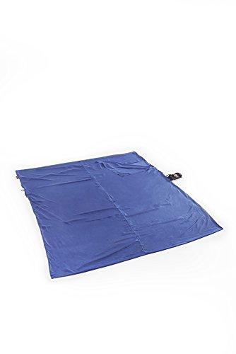 Grand Trunk Seidenschlafsack für Eine Person Schlafsack, Blau