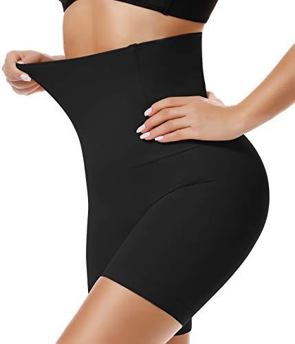 SLIMBELLE Pantalones Moldeadores para Mujer Braguita Moldeadora Cintura Alta Braga Faja Reductora Postparto Abdomen Adelgazante Shapewear Lenceria Negro M