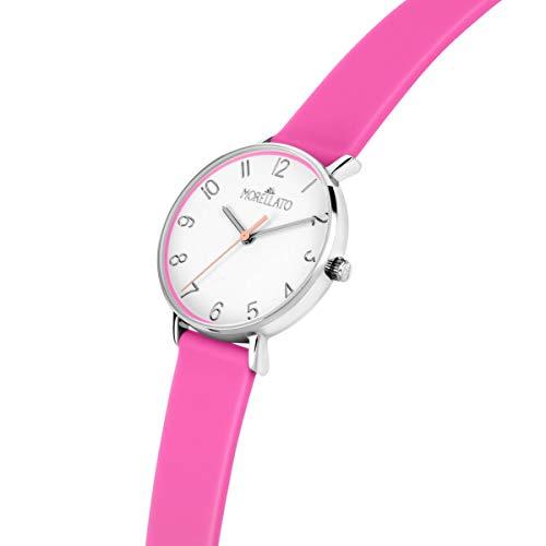 Morellato Orologio da donna, Collezione Sensazioni Summer, in acciaio,silicone - R0151158507