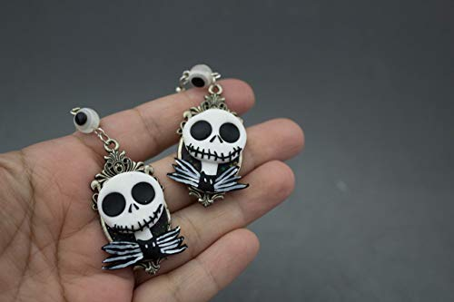 Pendientes Jack Skeleton
