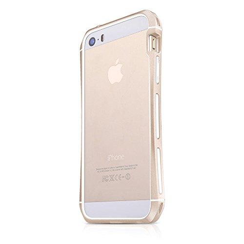 Itskins APH5-TXRNG-GOLD - Carcasa para iPhone 5/5S, dorado
