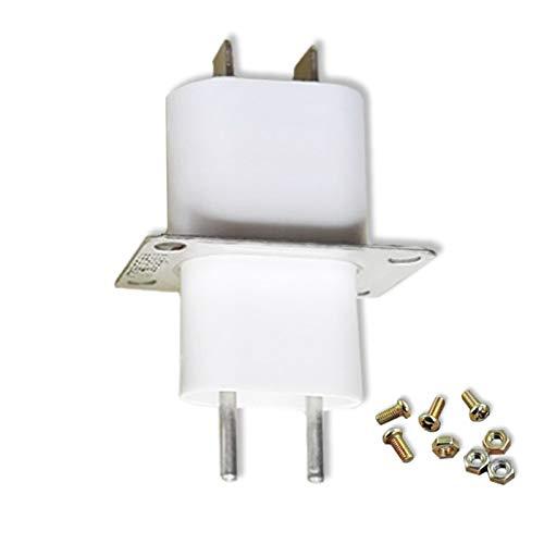 Ymhan® 1 Piezas Microondas Horno Magnetron Parte Lanzamiento Tubo Tonero Alto Voltaje Connector Conector Socket Partes de aparatos para el hogar Nuevo