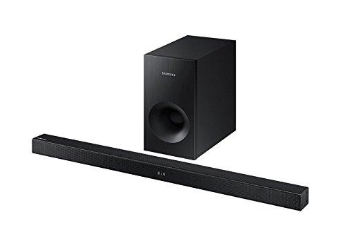 Abbildung Samsung hw-k430mit Kabel und ohne Kabel 2.1Soundbar Lautsprecher 220W schwarz