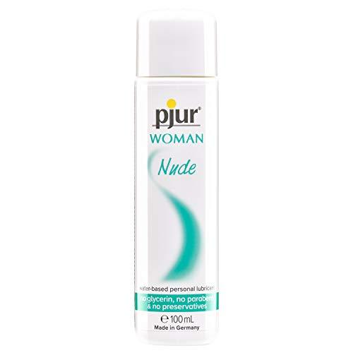 pjur WOMAN Nude - Natürliches Gleitgel auf Wasserbasis - frei von Konservierungsstoffen & Parabenen - speziell für Frauen (100ml)