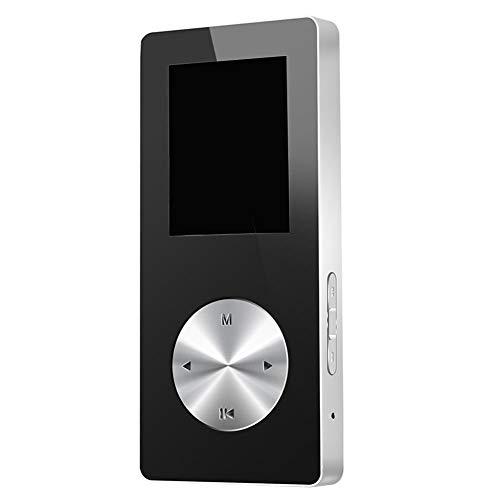 HshDUti 4/8/16G Lecteur de musique MP4 enregistreur Bluetooth 2.0 USB 2.0 d'écran de mode 1.8in TFT Silver + Gray 4GB