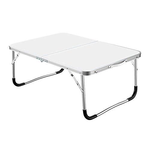 Alvnd Aluminium Opvouwbare Tafel, Draagbare Camping Tafel, Stevig Lichtgewicht voor Sofa Bed Koffie Lade Woonkamer Plank Eettafel