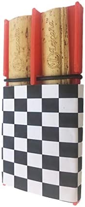 Red Soprano Saxophone Checkered Clearance SALE! Limited time! Rockin' Reed Lescana Holder Cheap mail order sales R by