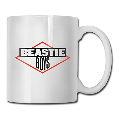 Fans Club Shop Mug,Beast-ie Boys Ceramic Coffee Mug Cup For Water Tea Drinks, White, 11 Oz